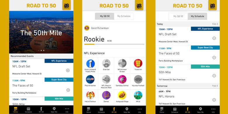Road-to-50 apps of the week