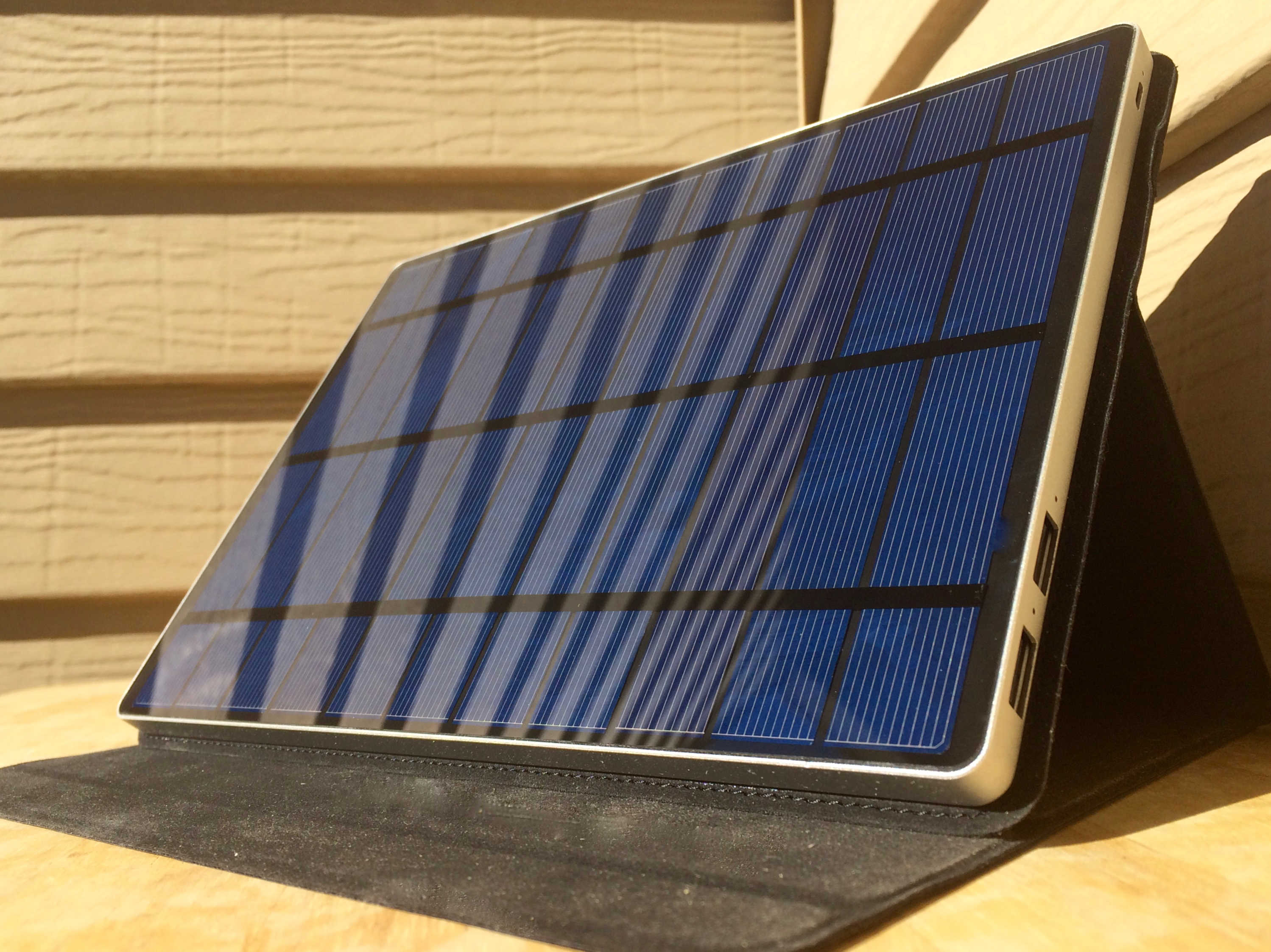 Review Solartab Solar Charger Is Big Enough To Blot Out