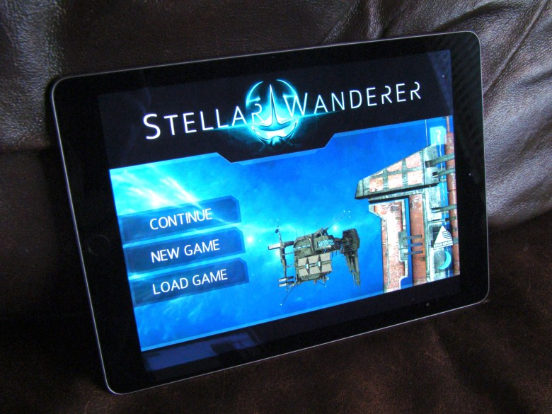 Stellar Wanderer is a space sim with both action and style.