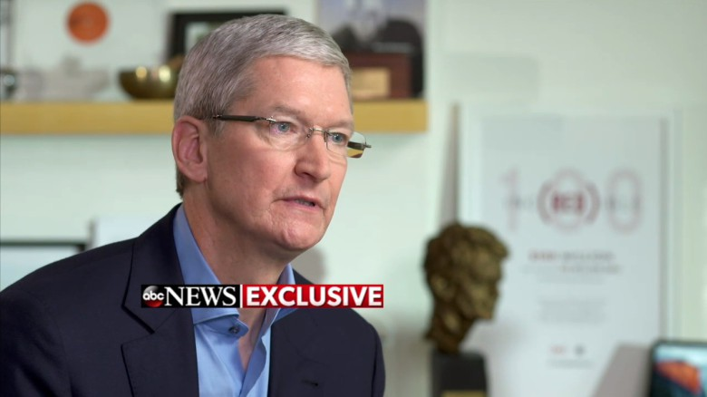 Tim Cook ABC News interview