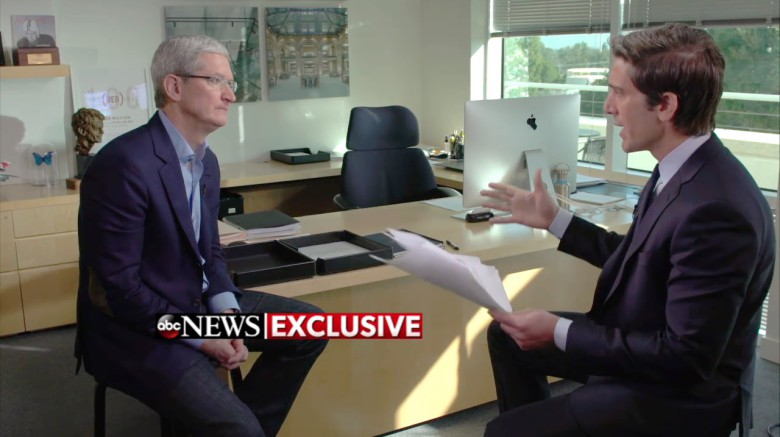 Tim Cook office ABC News