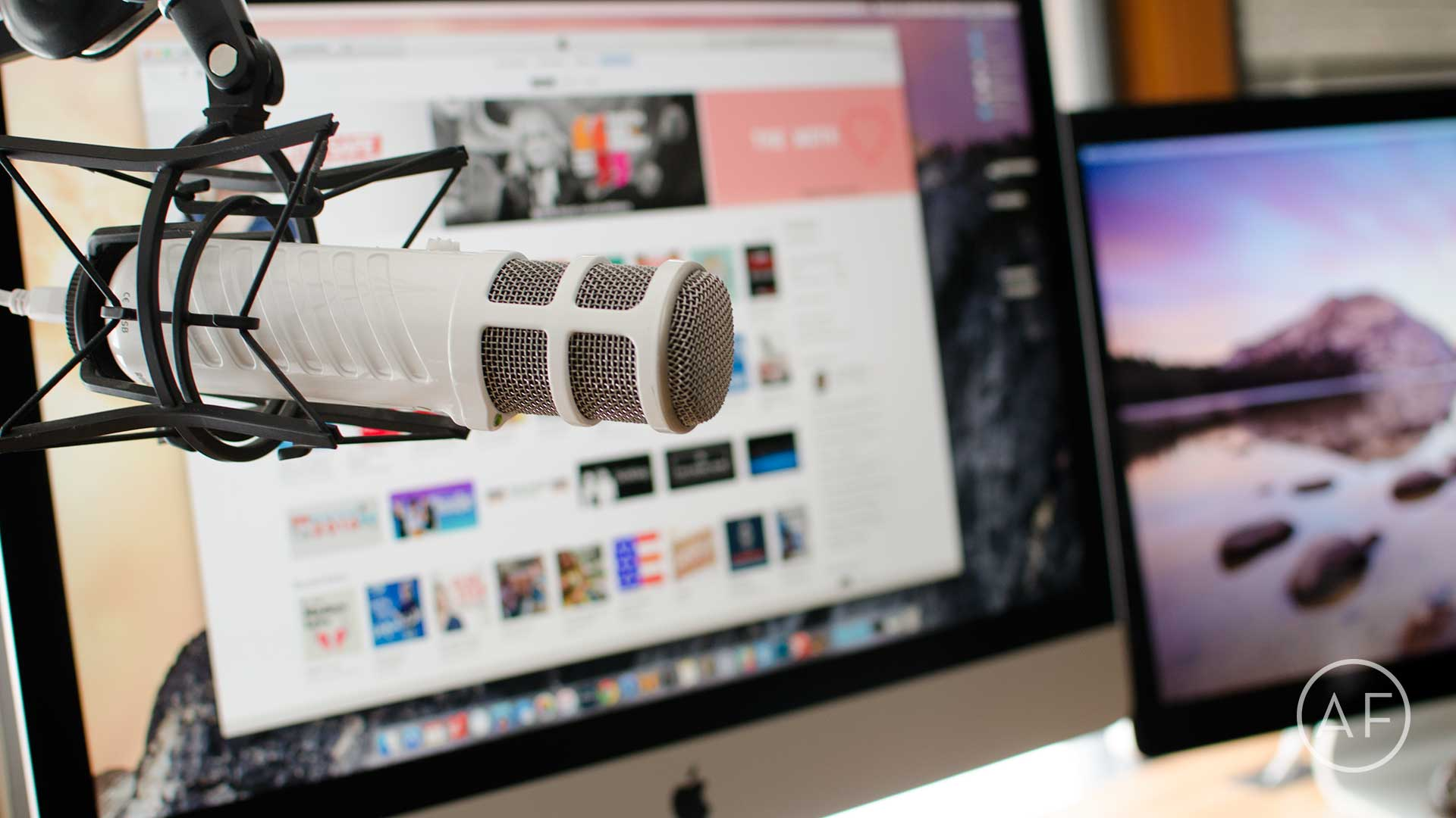 Podcasting doesn't have to break the bank. Here  are some high quality rigs and Mac apps to get you started.