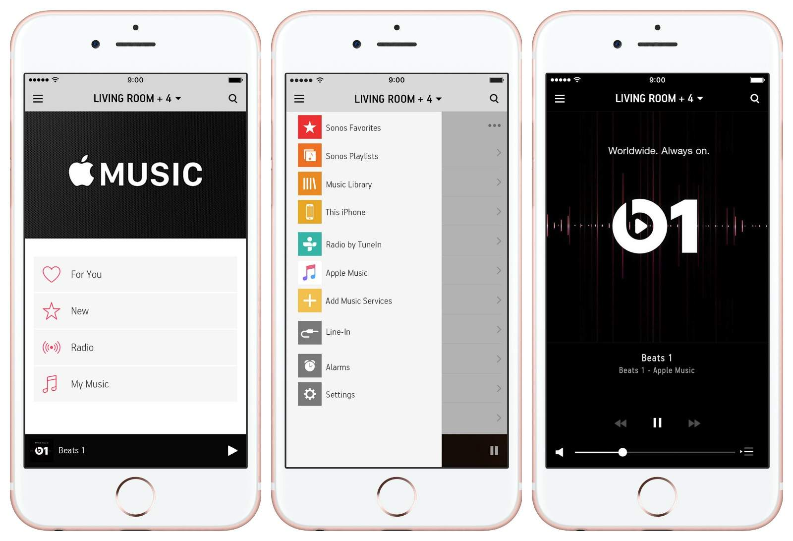 Apple Music is about to stream on Sonos smart speakers.