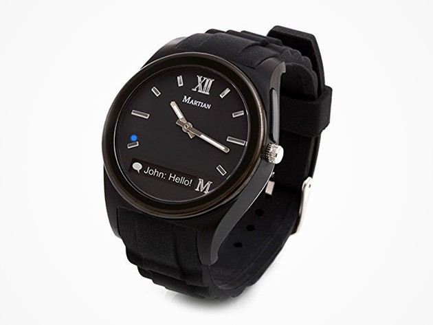 The Martian is a smartwatch with all the features you want but at a price you can afford.