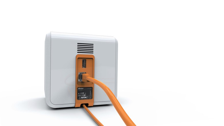 No software required. Just connect with Ethernet to your home network to maintain privacy online.
