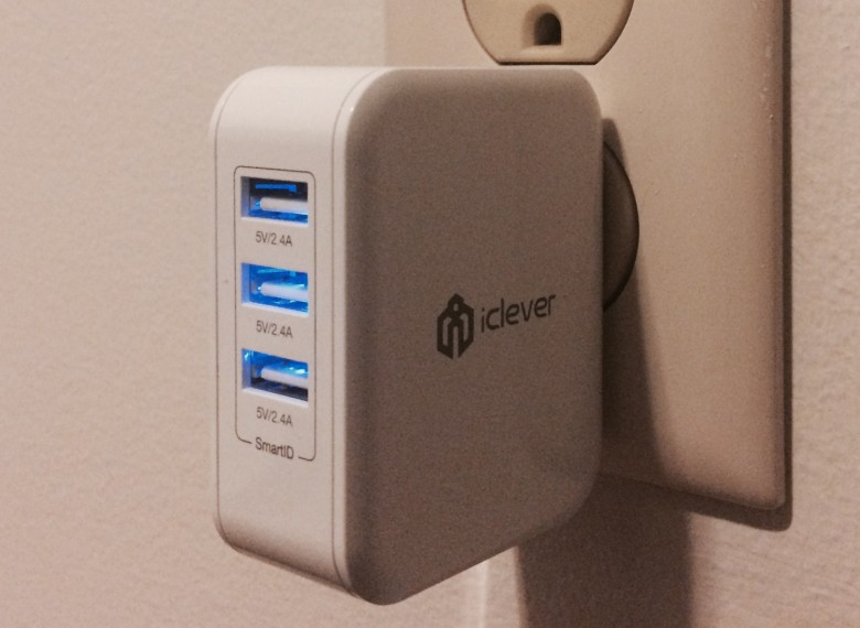 iClever BoostCube wall charger