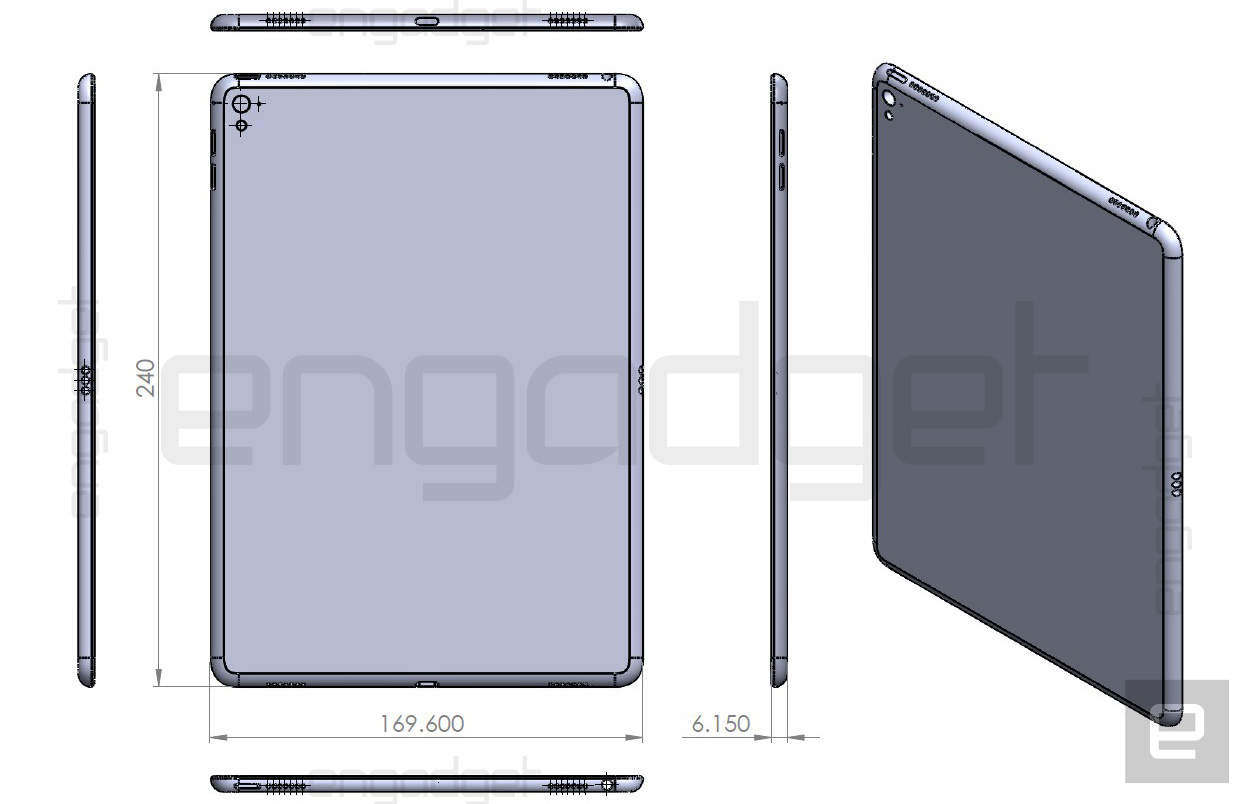 Schematic reveals iPad Air 3 will be slightly thicker than iPad Air ...