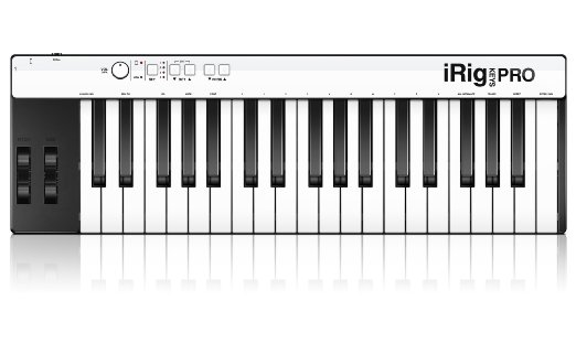 The iRig Keys is a full 3-octave keyboard that can record directly to iOS devices.