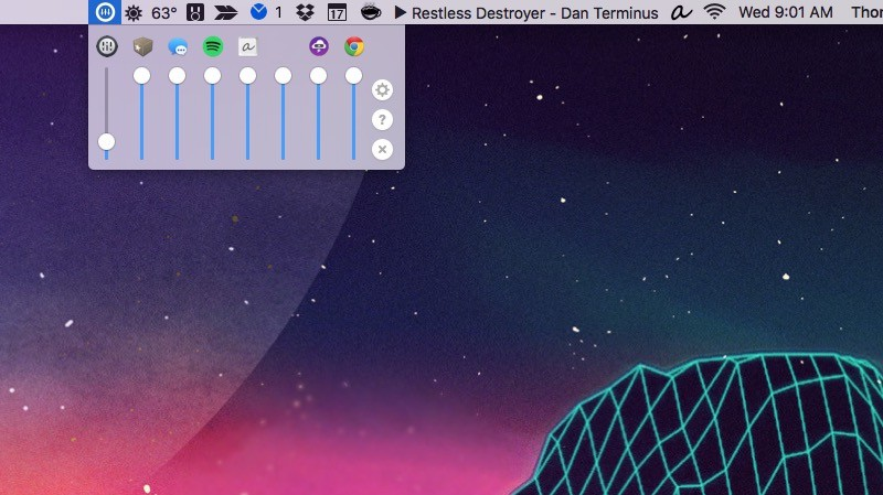 volume mixer lets you control your mac 39 s volume app by app. Black Bedroom Furniture Sets. Home Design Ideas
