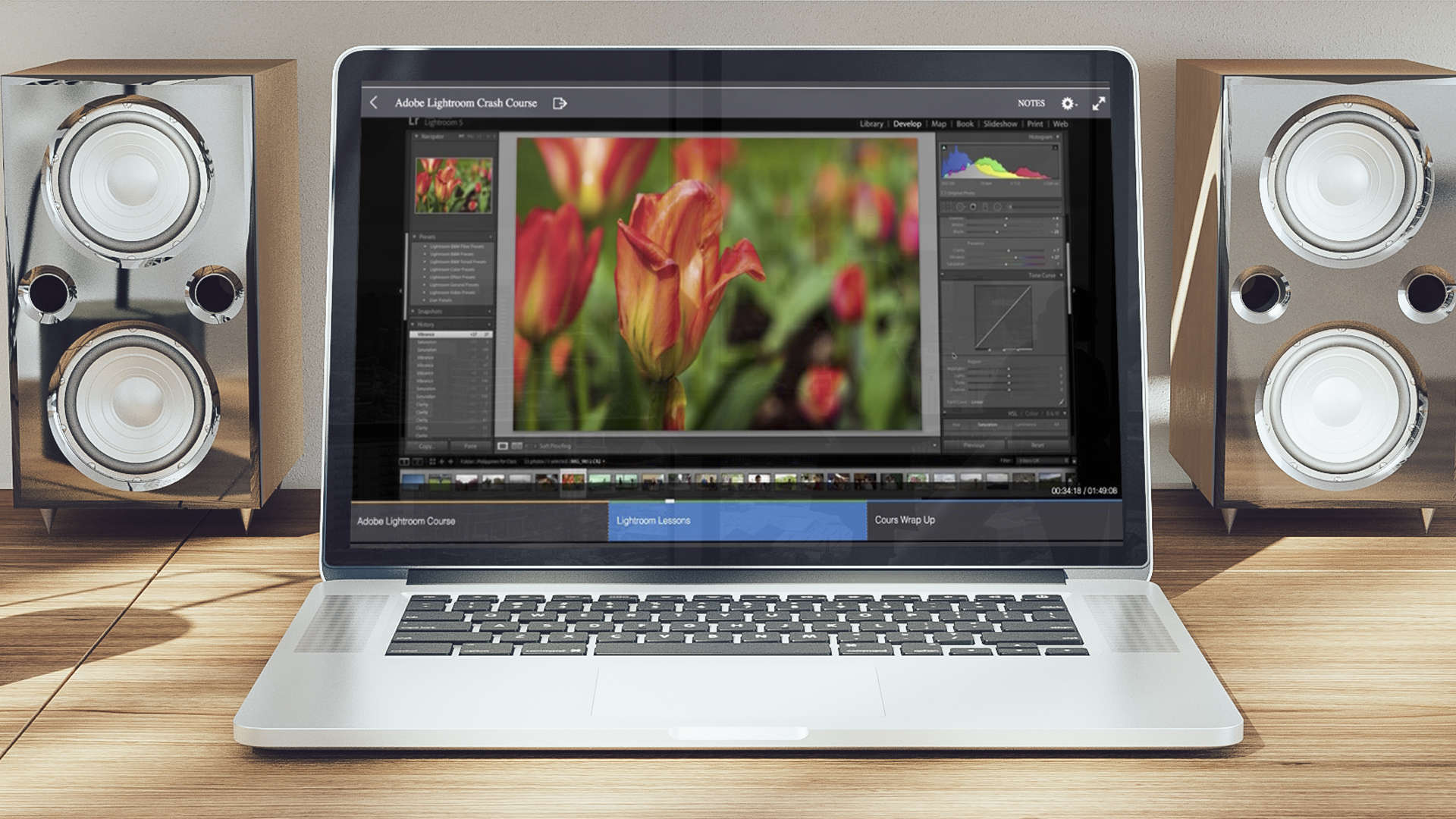Get serious with a Lightroom crash course that won't take too much of your time.