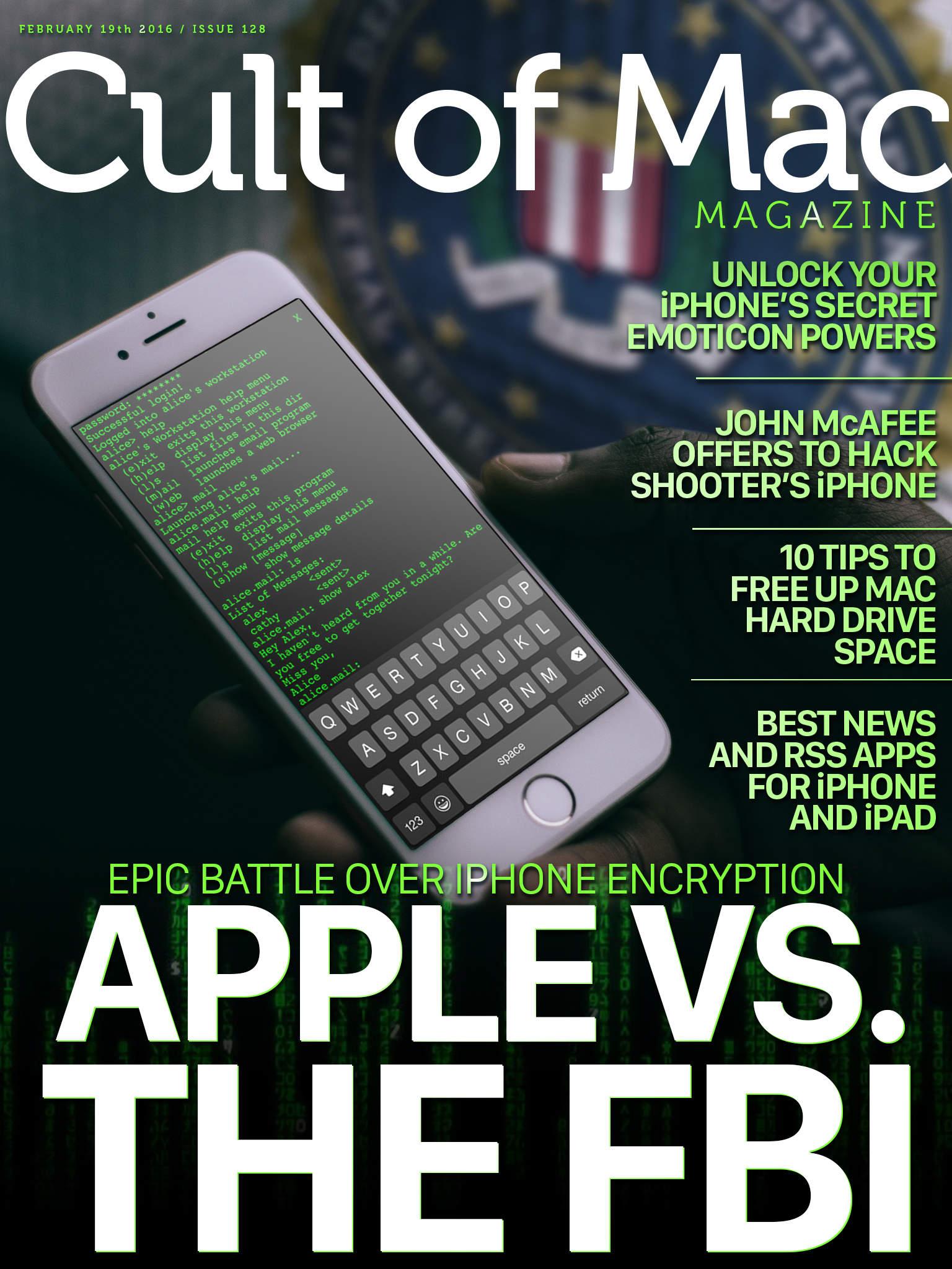 Apple takes on the FBI.