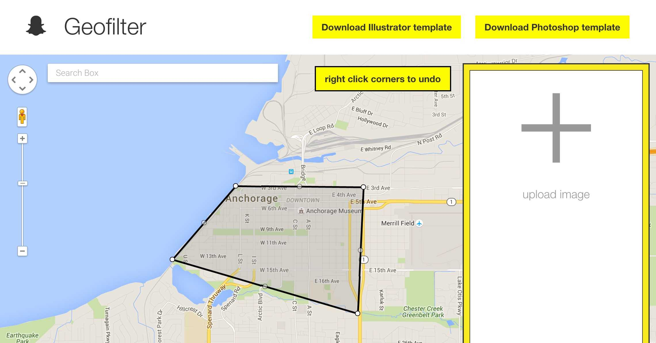Grab A Template And Draw Your Geofence