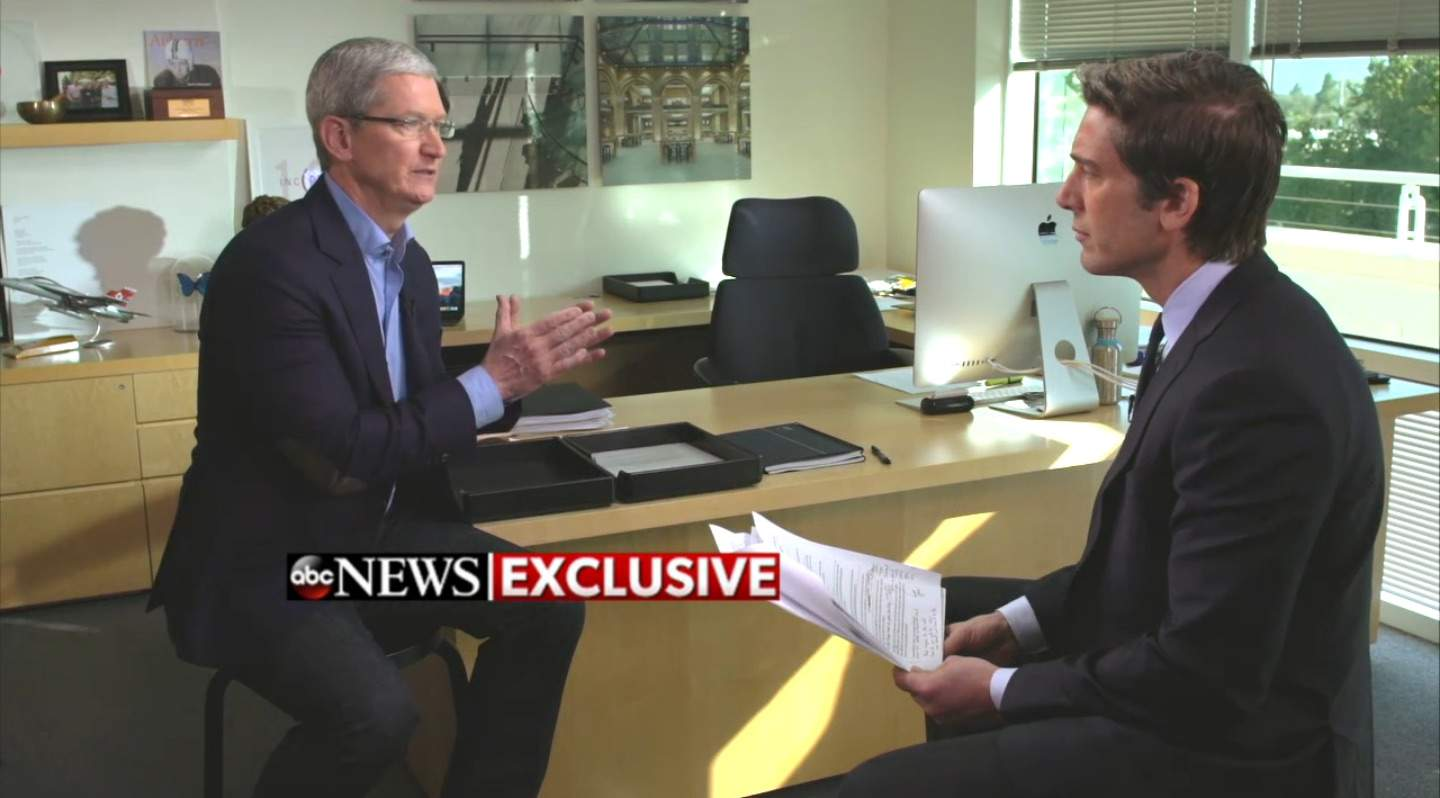 Tim Cook's tech friends are coming to Apple's defense.