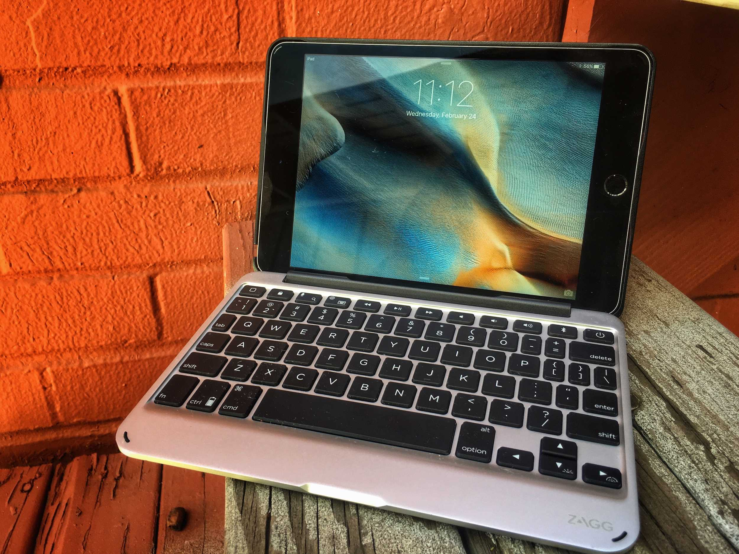 Zagg Slim Book turns the iPad mini into a tiny netbook.