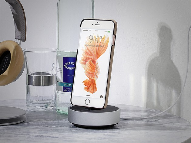 The HoverDock supports and charges your phone while doing justice to its sleek design.