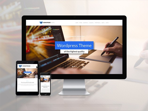 Easily build professional grade websites with these pre-made templates.