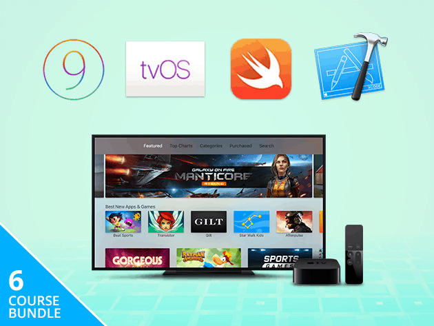 Learn to develop for Apple TV with dozens of hours of lessons.