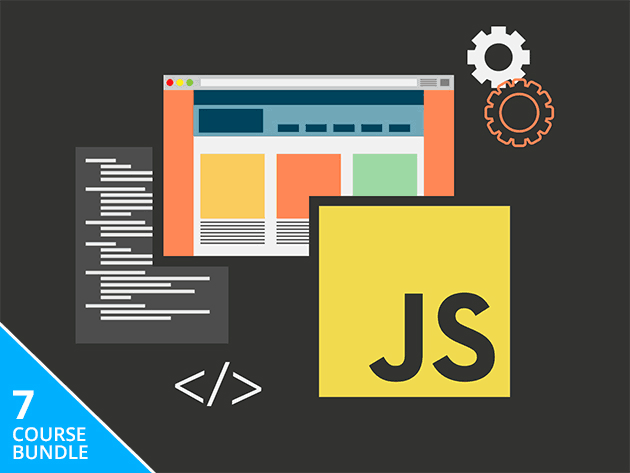 Learn the many facets of frontend development in JavaScript with this bundle of 7 courses.