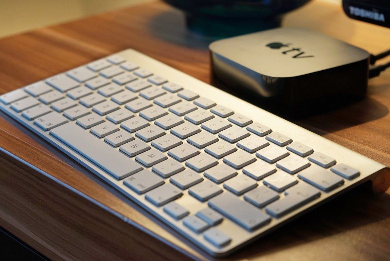 With tvOS, your newer Apple TV can work with Bluetooth keyboards.