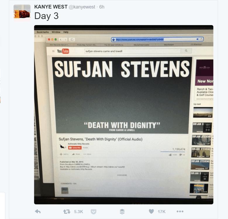 Oh dear, Kanye.