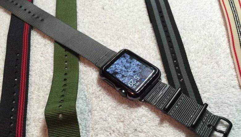Make your own nylon Apple Watch strap
