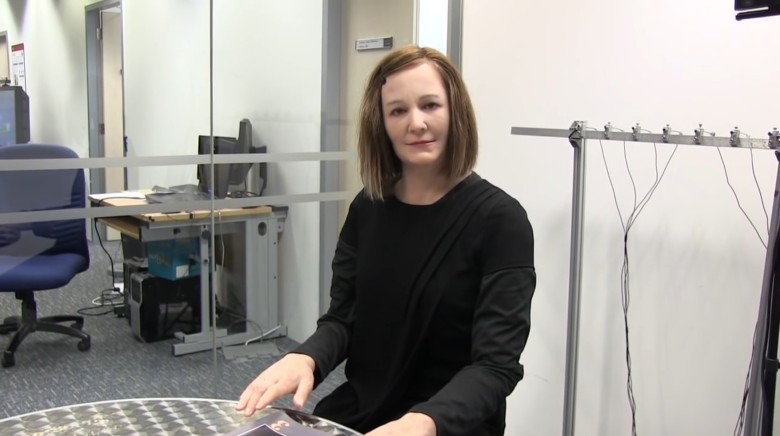 Nadine robotic assistant