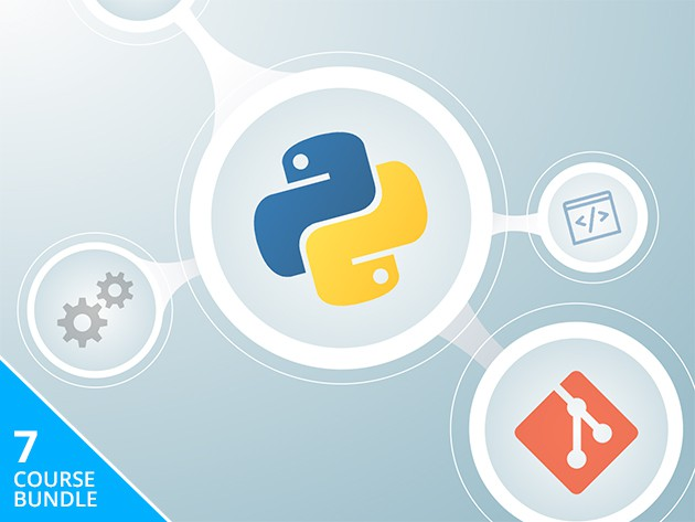 Learn the many facets of Python with this bundle of 7 lessons.
