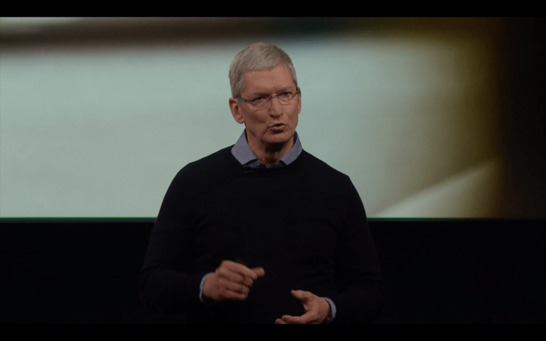 Tim Cook Apple March 21 event