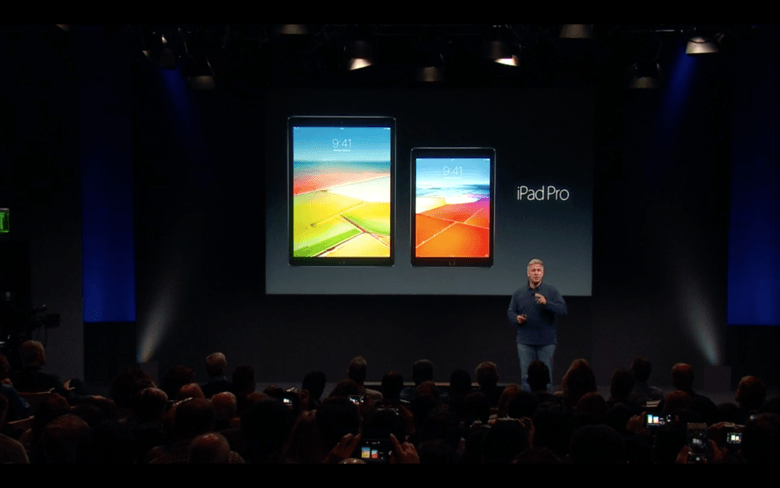 Size does matter, says Phil Schiller.