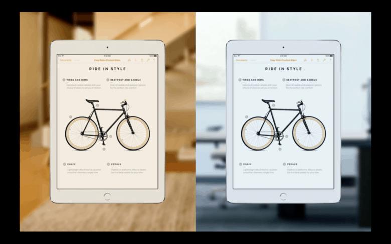 iPad Pro True Tone Display