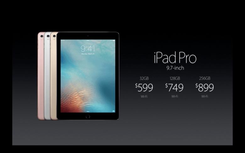 iPad Pro prices