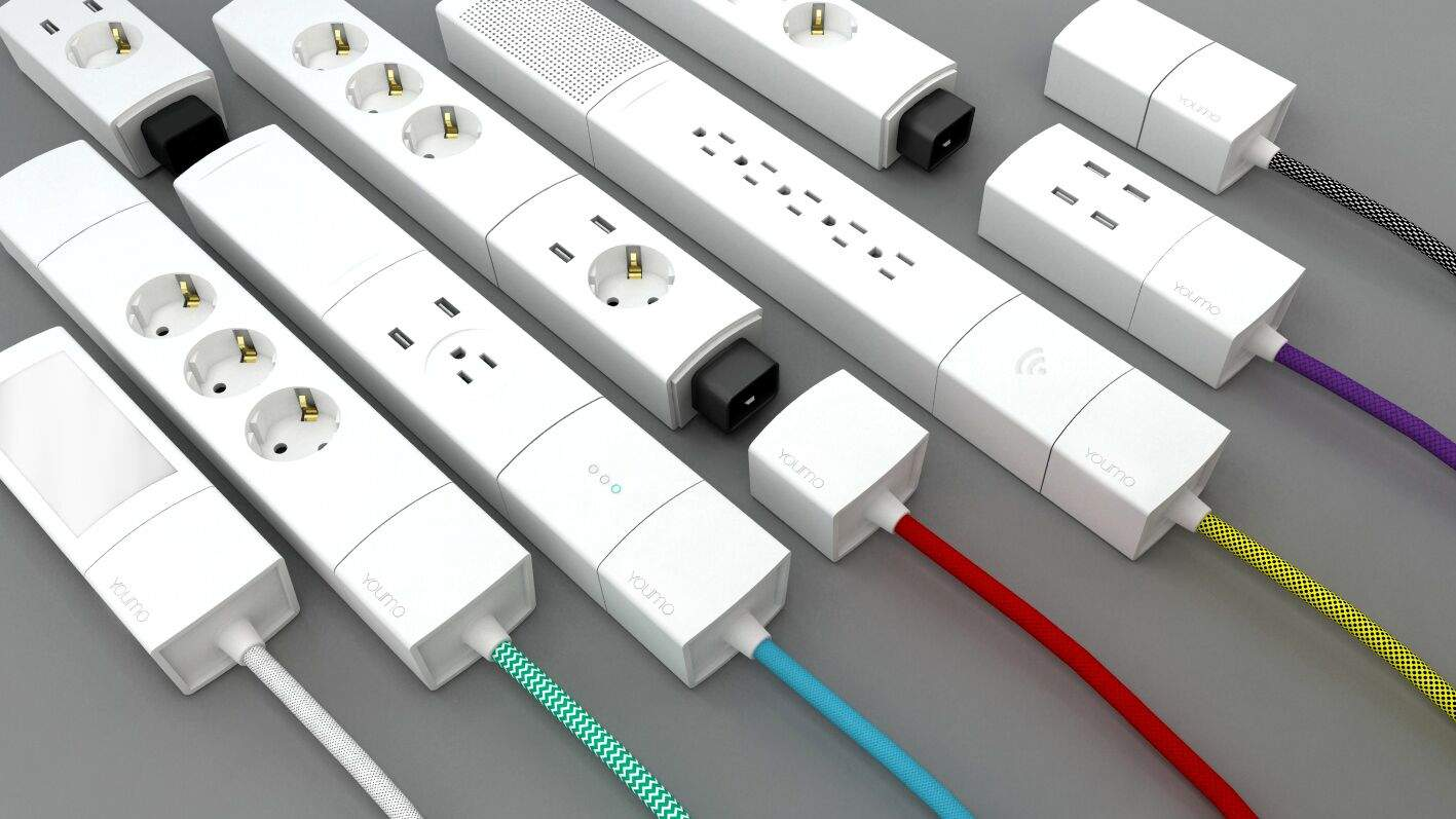 Youmo Modular System Lets You Build Your Perfect Power Strip