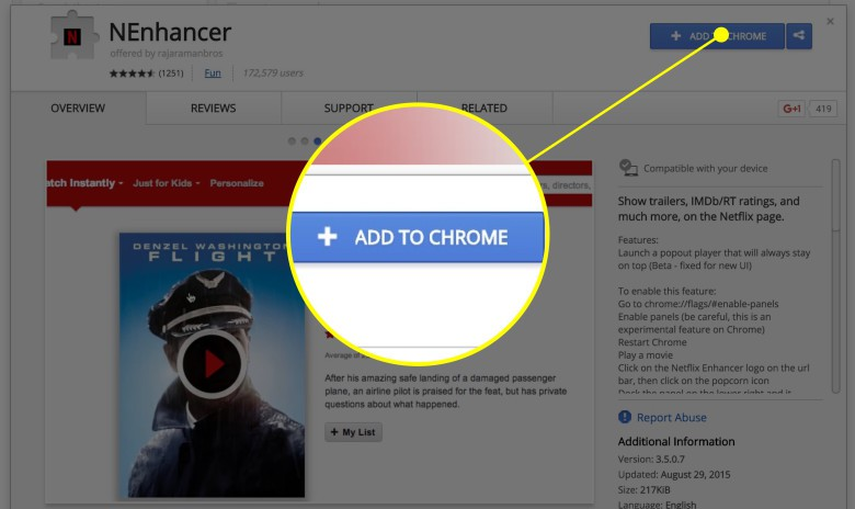 Add this extension to Chrome and stay distracted all day.