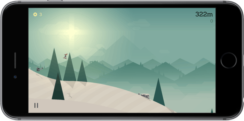 An awesome endless runner that's as relaxing as it is entertaining.