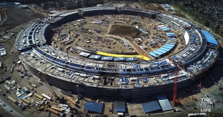 Apple Campus 2 nears closer to completion in latest drone