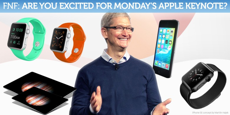 Our resident Apple fanboy can't wait!