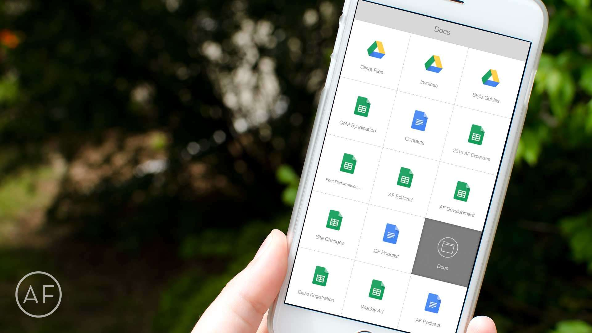 Want even faster access to your most-used Google Drive files? Let Launch Center Pro do the heavy lifting!