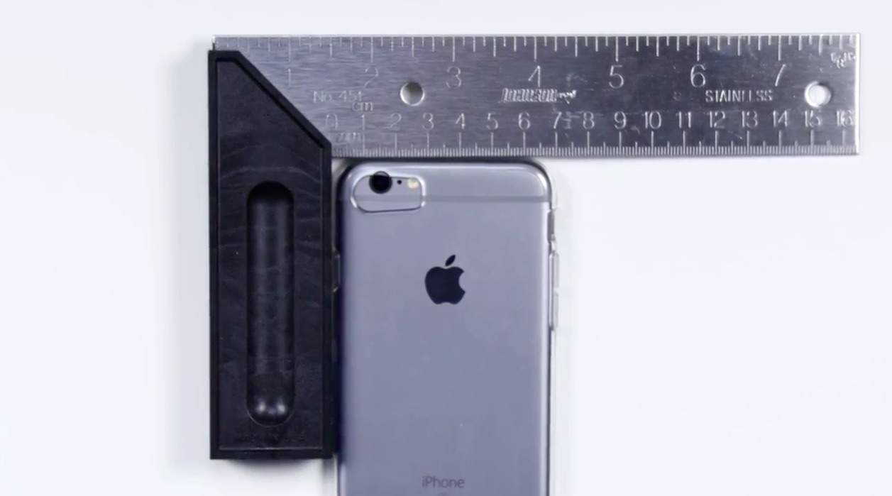 iPhone 6 inside an iPhone 7 case.