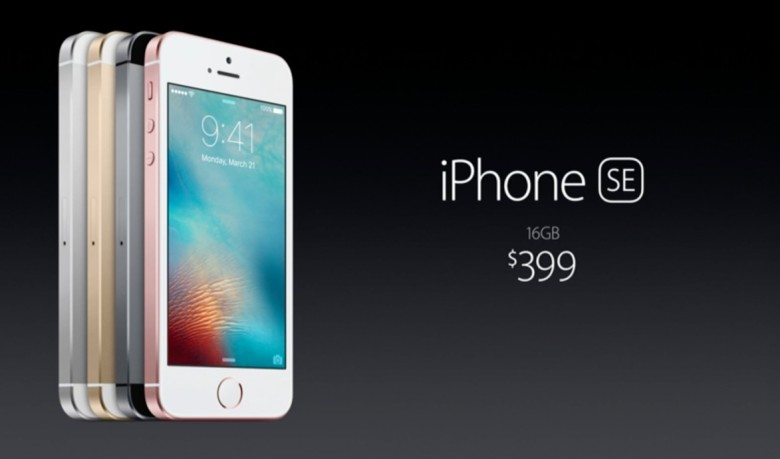Scalpers will give you a discount on the iPhone SE.