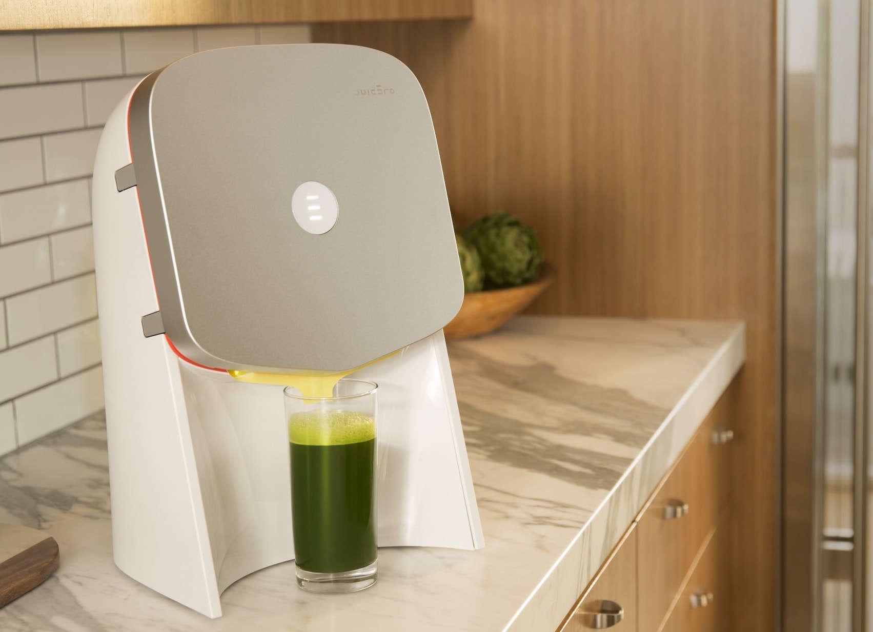 The Juicero is like a Keurig for juicing.