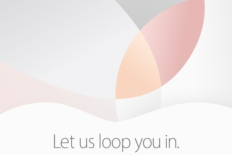 Apple event let us loop you in