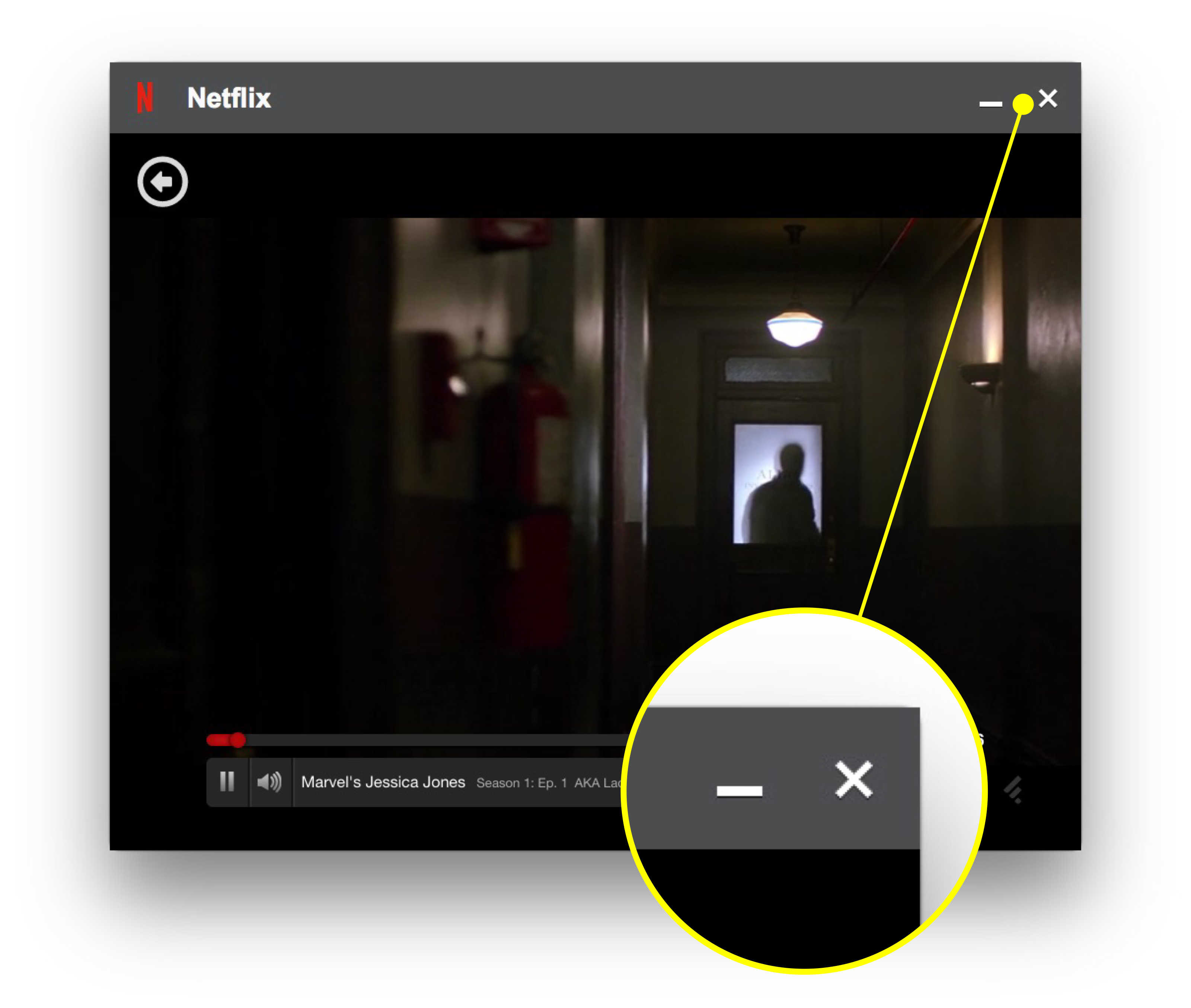 Stay distracted: Keep Netflix video running in the
