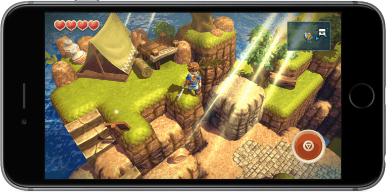 If you were a Zelda fan, you'll fall in love with Oceanhorn.