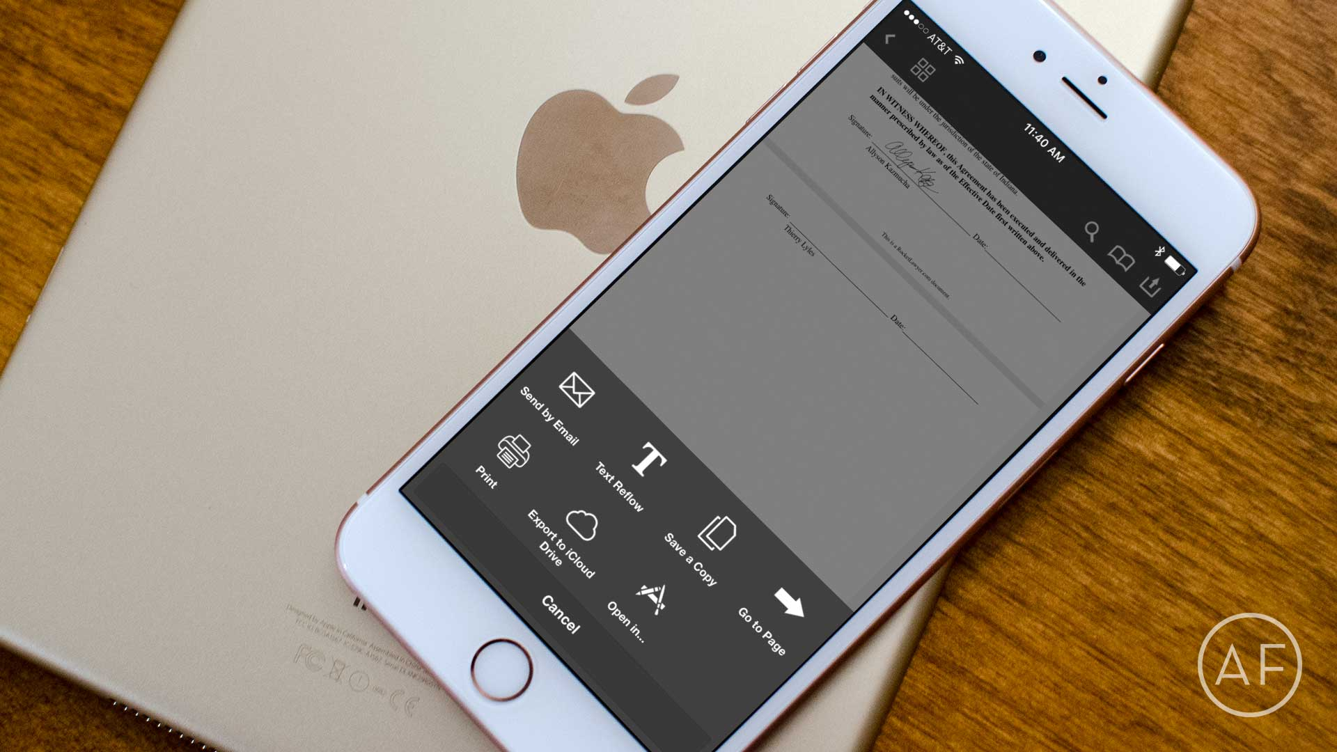How to sign, scan and send PDFs on iPhone or iPad