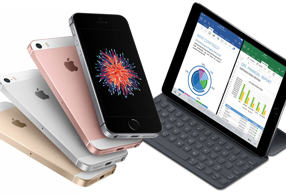 Pre,order your iPhone SE and 9.7,inch iPad Pro now