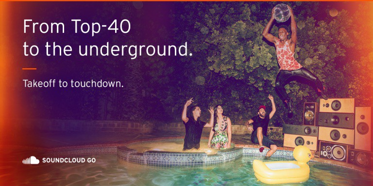 SoundCloud Go is yet another music streaming service.