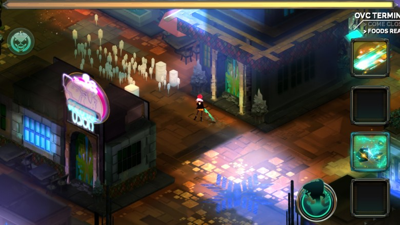 Unlock all the secrets this amazing city has to offer in Transistor.