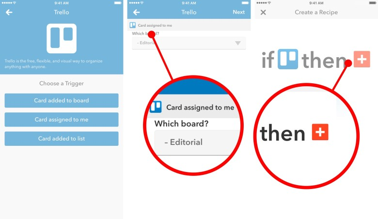 How to integrate Trello and Todoist with IFTTT.