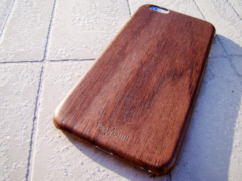The Woodline case by Pad & Quill will class up your iPhone with ease.