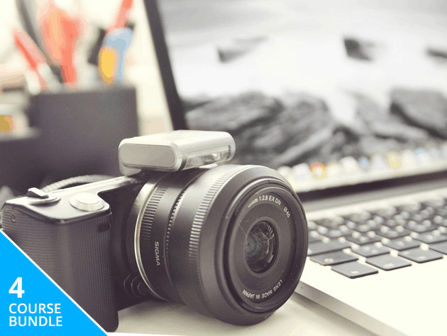 Learn the power of Adobe for photography with this bundle of comprehensive lessons.